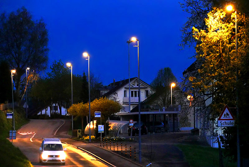 Bild Besenbüren Kantonsstrasse
